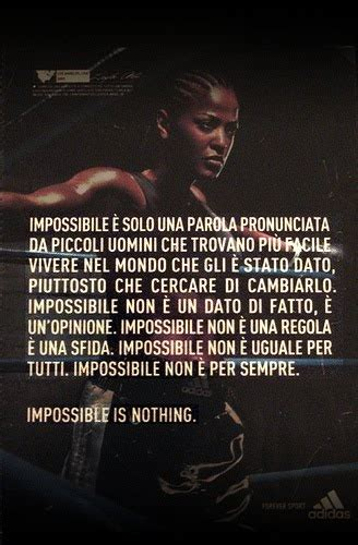 impossible testo pensieri sparsi impossible is nothing niente 232 impossible