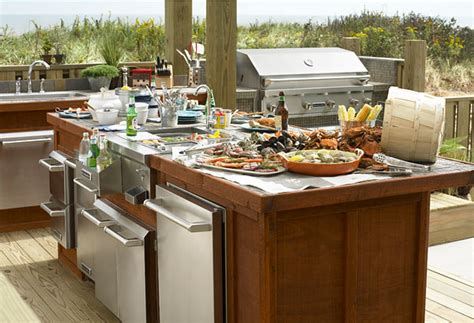 Outdoor Kitchens Designs Sizzling Outdoor Kitchen Designs The House Designers