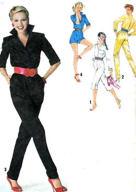 womens jumpsuit pattern free 17 best images about 80 s sewing patterns on pinterest