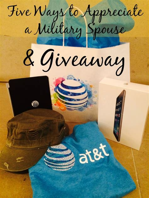 Army And You Giveaways - five ways to appreciate a military spouse and giveaway milspouse ad candypolooza