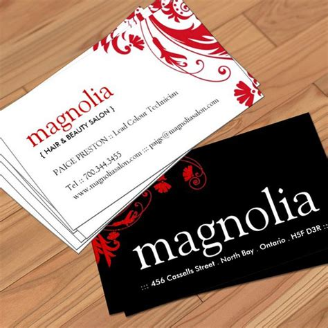 salon free business card template 37 best images about hair salon business card templates on