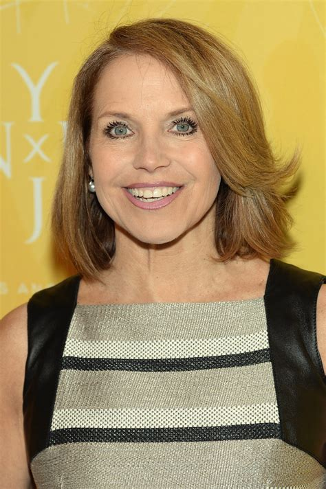 what is katie courics current hairstyle katie couric mid length bob mid length bob lookbook