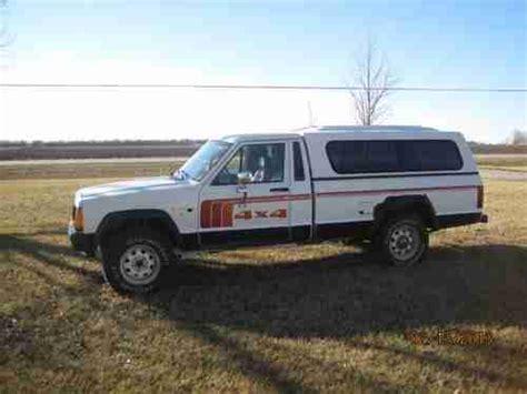 jeep comanche 4x4 purchase used 1986 jeep comanche 4x4 longbed in