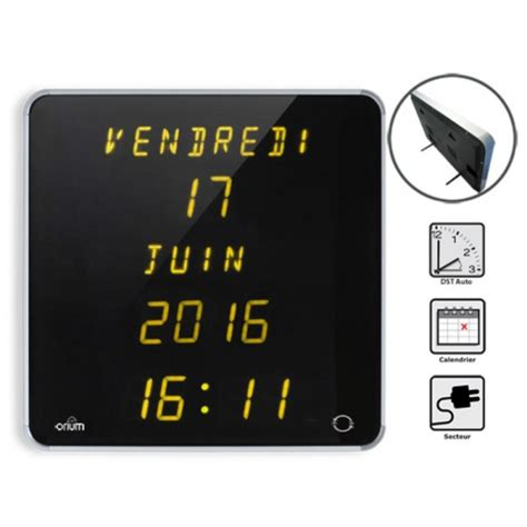 horloge calendrier digitale horloge calendrier digitale ephemeris