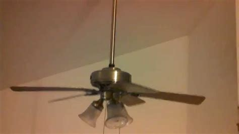 how to remove a ceiling fan hunter beacon hill ceiling fan removal replacement youtube