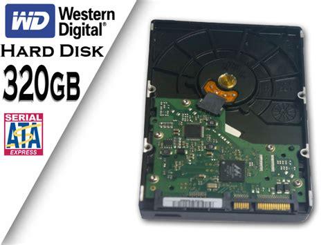 Hardisk 320gb Second 320gb disk western digital econo pc