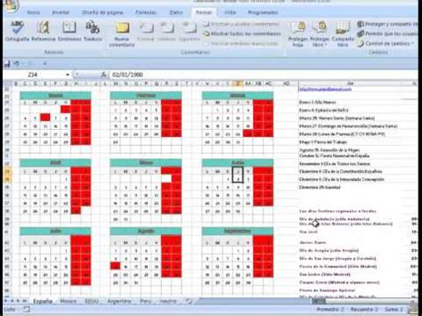 Calendario 2017 Excel Con Festivos Calendario 2016 En Excel Gratis Calendario Anual 2016 En