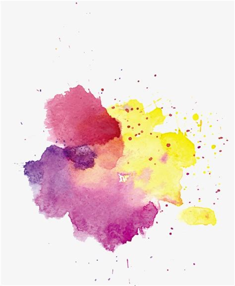 water color splash splash watercolor effect pattern material splash clipart