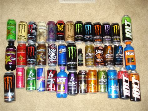 energy drink types energydrinks p1