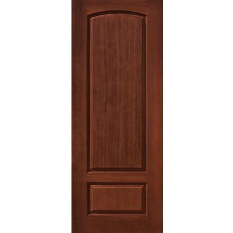2 Panel Exterior Door Glasscraft 2 Panel 2 Panel Fiberglass Entry Door Cherry Wood Grain