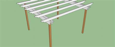 woodwork pergola plans 10 x 12 pdf plans