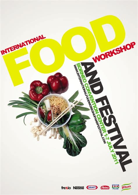 posters cuisine concept of international food event poster by frendy