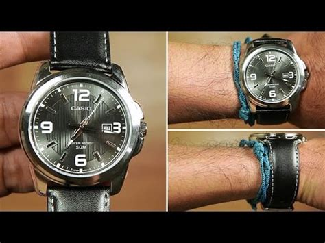Casio Standard Ltp 1314l 8av casio standard mtp 1314l 8av leather black