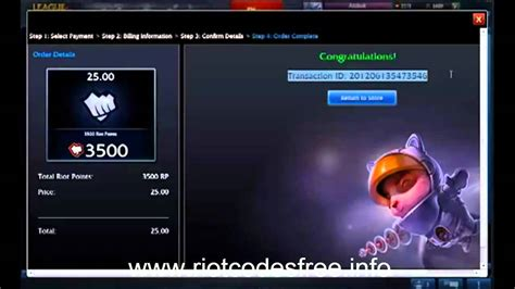 riot codes free october 2012 giveaway genuine youtube - Rp Code Giveaway