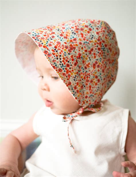 Home Decor Sewing Ideas by Baby Bonnet Pattern On Pinterest Crochet Baby Bonnet