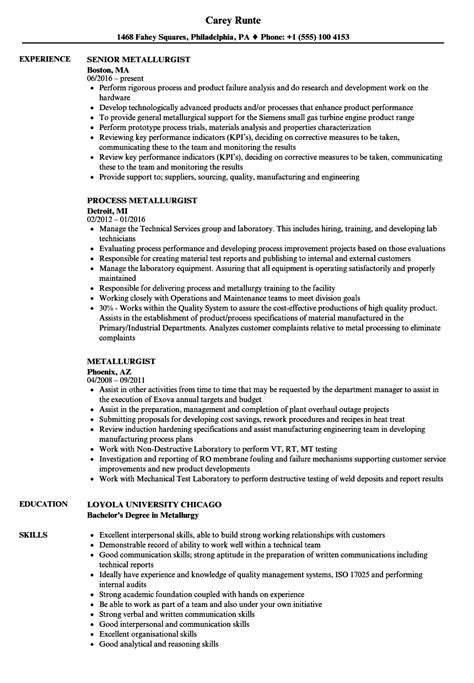 Corrosion Specialist Cover Letter by Corrosion Specialist Sle Resume Pack Trainer Cover Letter