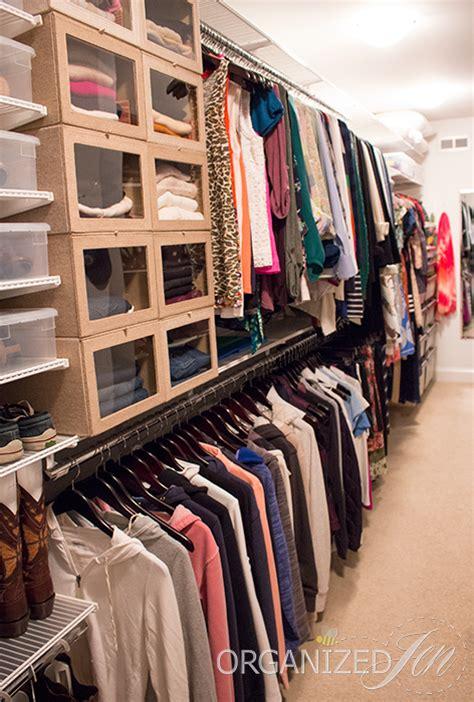 large closet large walk in closet organization summer 2014 update