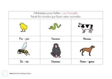 imagenes de animales y sonidos onomatopeyas de animales