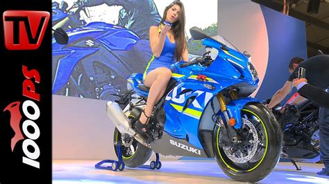 Motorrad Messe Japan 2017 by Suzuki Gsx R 1000 2016 Details Electronics Specs Youtube