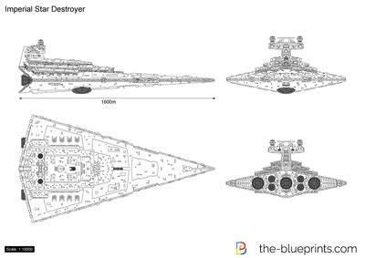 Adobe Illustrator Floor Plan Template the blueprints com vector drawing imperial star destroyer