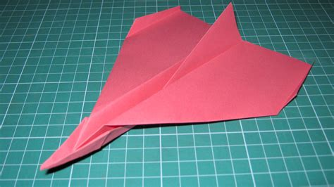 How To Make A Paper Plane Fly Far - origami tutorial paper airplane glider that flies far