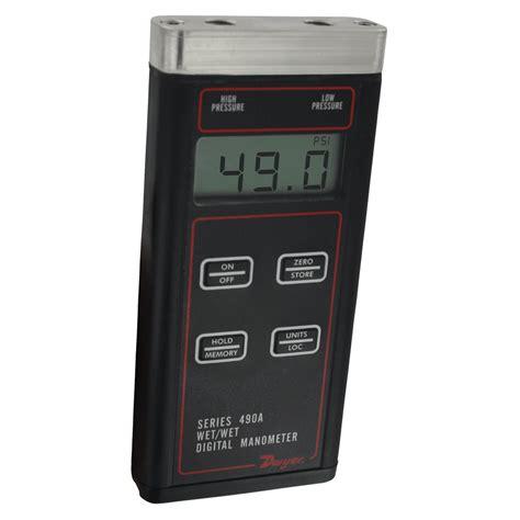 Display Digital Manometer Handheld Air Pressure Meter Ht 1890 1 series 490a hydronic differential pressure manometer is a versatile handheld battery
