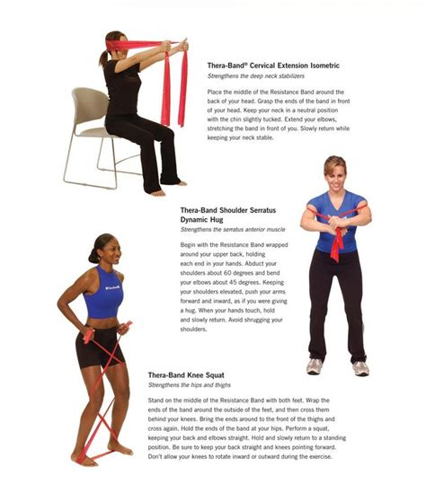 thera bands are a great inexpensive workout tool that is