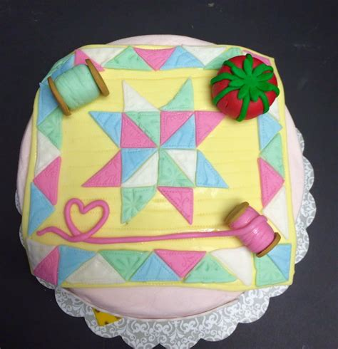 Quilting A Cake by Quilting Themed Cake Cakecentral