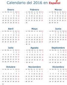 Calendario 2018 Honduras 2016 Calendario