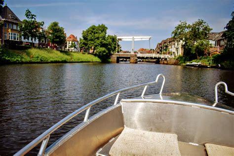 bootje zwolle kan nu ook in zwolle zelf met een fluisterbootje door de