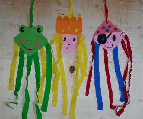 fasching im kindergarten basteln mit kindern karneval
