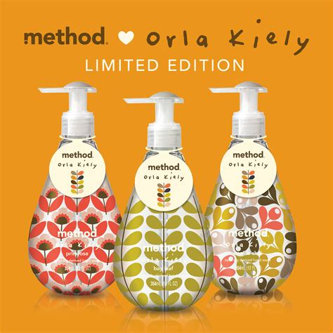 sacre special edition soap orla kiely meets method on the spot on