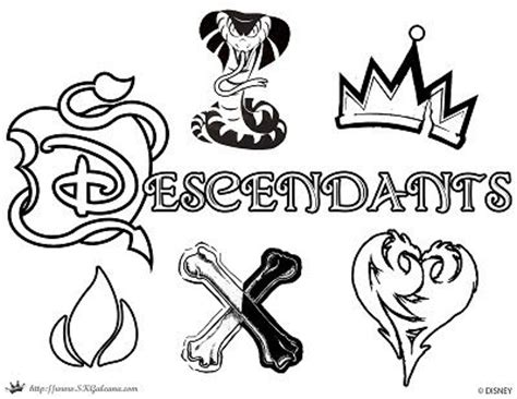 free coloring pages disney descendants disney descendants villains coloring pages coloring pages