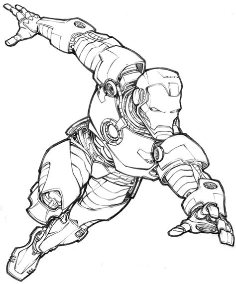 iron man comic coloring pages iron man by jeremy bear comic books art pinterest