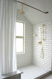 Grout Your Bathroom Design Trends White Tile With Grout Zerah