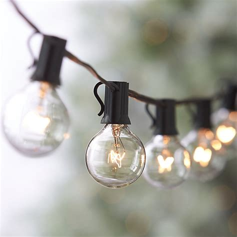 string of globe lights globe string lights reviews crate and barrel