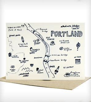 Portland Gift Card Ideas - 186 best maps images on pinterest illustrated maps map illustrations and cities