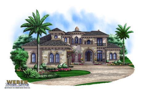 dhg design home group luxury house plans beach coastal mediterranean luxury