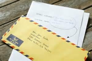 Address Business Letter Envelope Attn addressing an envelope c o submited images