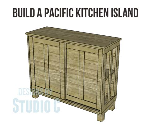 kitchen island plans free free furniture plans build pacific kitchen island