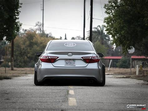 stanced toyota camry stance toyota camry 2016 rear