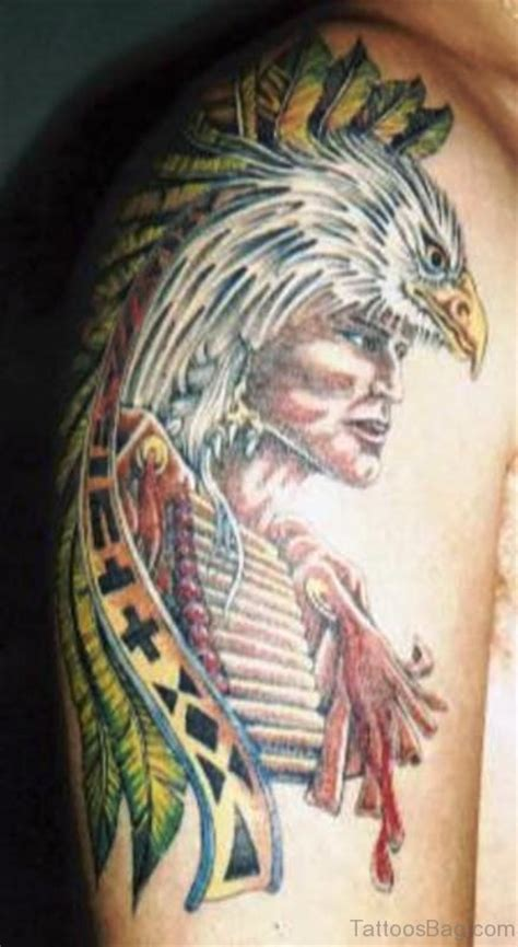 eagle tattoo native american 74 gorgeous eagle tattoos on shoulder