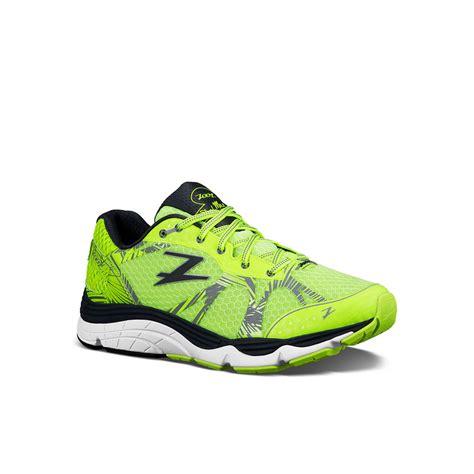 shoes sneakers zoot mar mens green black sneakers running road sports