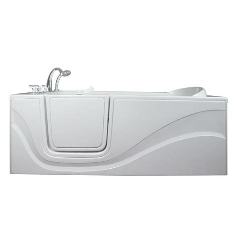 lay down walk in bathtub ella lay down 5 ft x 30 in walk in soaking bathtub in
