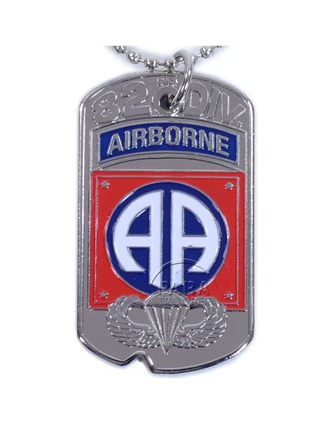 tag div tag identity d day 82nd airborne div paratrooper