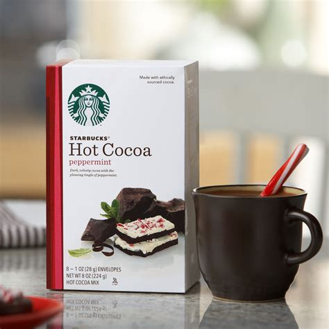 starbucks peppermint cocoa mix realfly