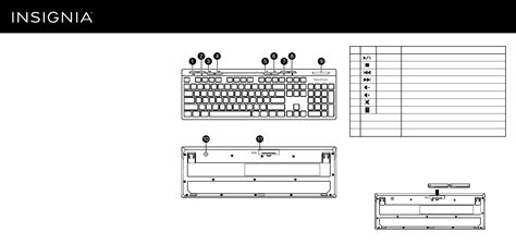 Keyboard Manual Laptop insignia computer keyboard ns pnk5011 user guide manualsonline
