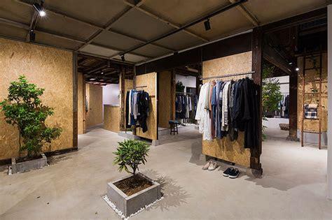 designboom store studio201architects enhances vintage clothing store with
