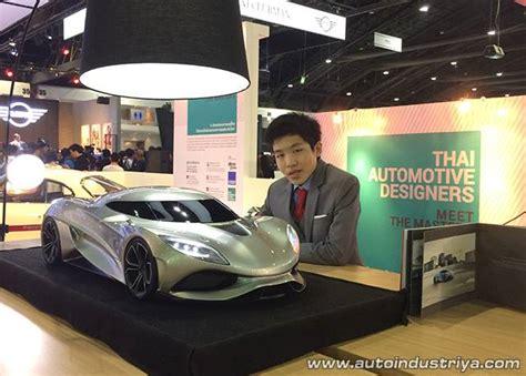 koenigsegg thailand thai motor expo 2015 15 year old designs supercar concept