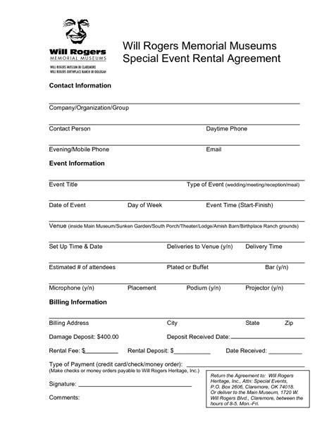 event space rental contract template event space rental agreement template 28 images free